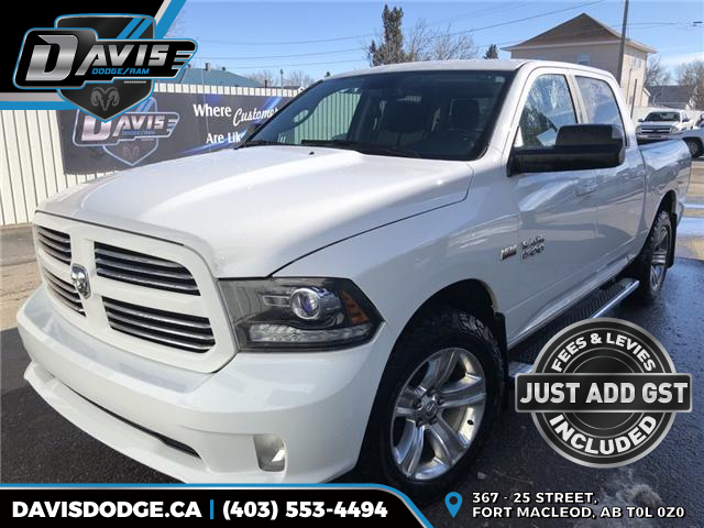 2017 RAM 1500 Sport (Stk: 14603) in Fort Macleod - Image 1 of 20