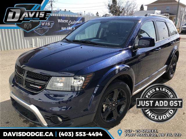 2018 Dodge Journey Crossroad (Stk: 14686) in Fort Macleod - Image 1 of 22
