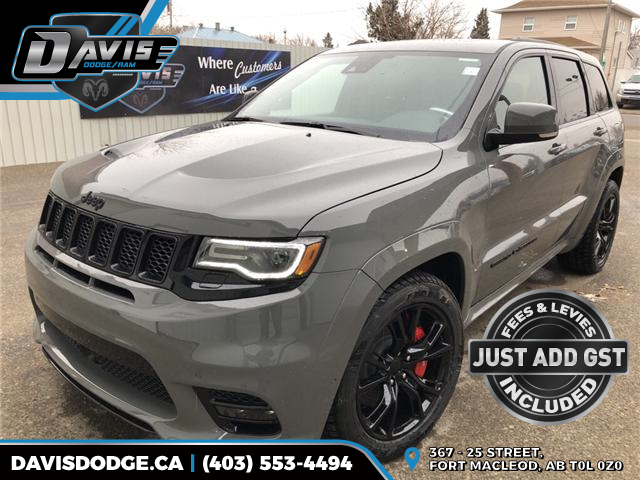2019 Jeep Grand Cherokee SRT (Stk: 14290) in Fort Macleod - Image 1 of 24