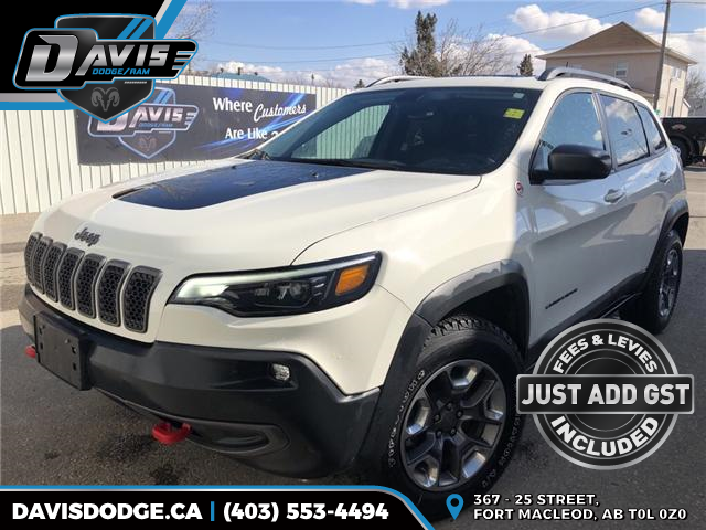 2019 Jeep Cherokee Trailhawk (Stk: 14682) in Fort Macleod - Image 1 of 21