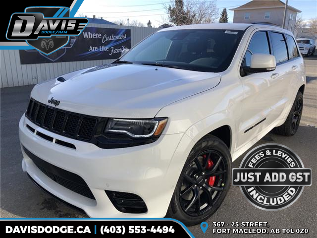 2019 Jeep Grand Cherokee SRT (Stk: 14637) in Fort Macleod - Image 1 of 22
