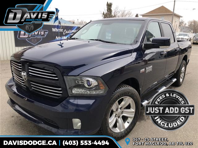 2013 RAM 1500 Sport (Stk: 14592) in Fort Macleod - Image 1 of 18