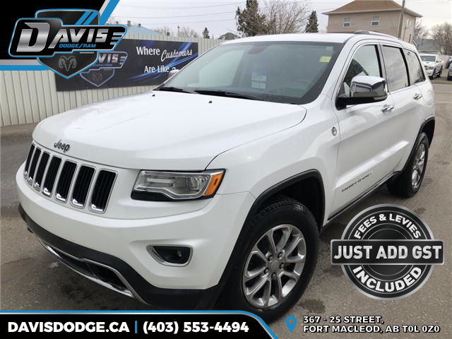 2015 Jeep Grand Cherokee Limited (Stk: 6689) in Fort Macleod - Image 1 of 24