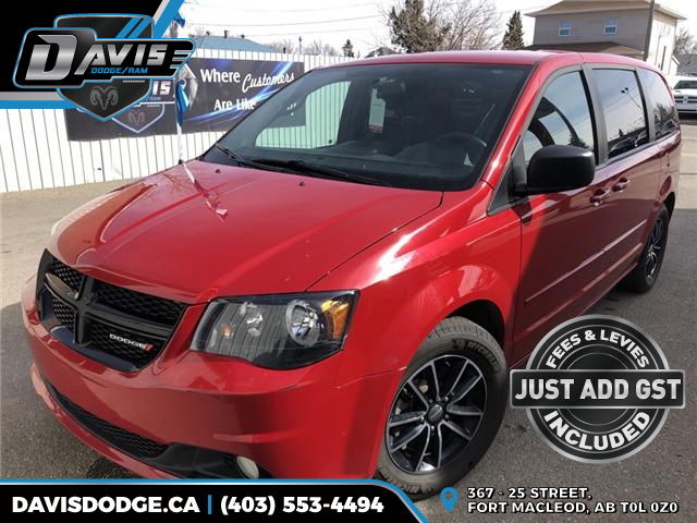 2014 Dodge Grand Caravan SE/SXT (Stk: 5598) in Fort Macleod - Image 1 of 20
