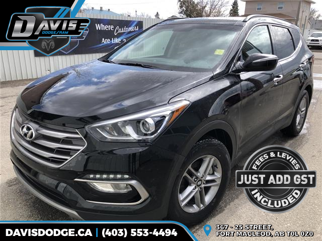 2018 Hyundai Santa Fe Sport 2.4 Luxury 5XYZUDLB8JG539459 14776 in Fort Macleod
