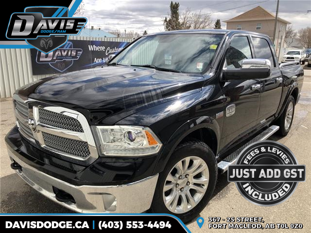 2013 RAM 1500 Laramie Longhorn (Stk: 13234) in Fort Macleod - Image 1 of 22