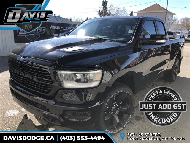 2019 RAM 1500 Sport (Stk: 14833) in Fort Macleod - Image 1 of 20