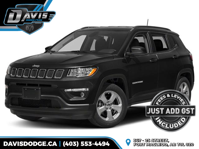 2018 Jeep Compass North (Stk: 12904) in Fort Macleod - Image 1 of 9