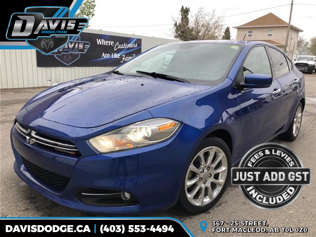 2013 Dodge Dart Limited/GT (Stk: 10500) in Fort Macleod - Image 1 of 20