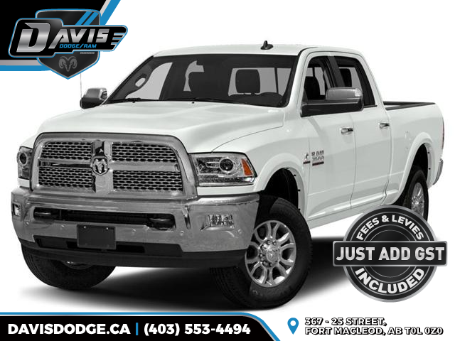 2017 RAM 3500 Laramie (Stk: 10964) in Fort Macleod - Image 1 of 9
