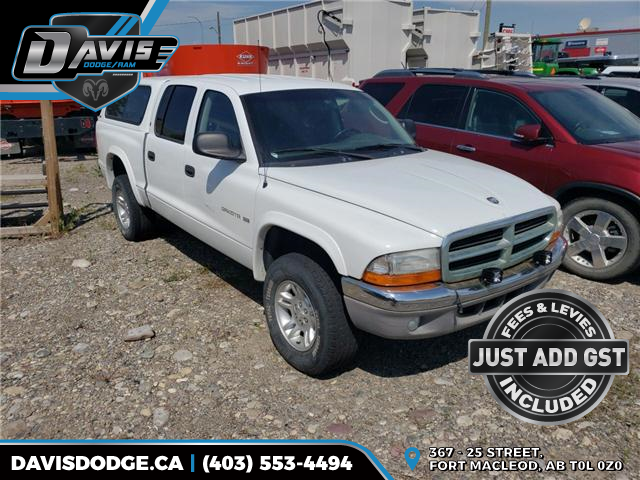 2001 Dodge Dakota SLT (Stk: 9084) in Fort Macleod - Image 1 of 2