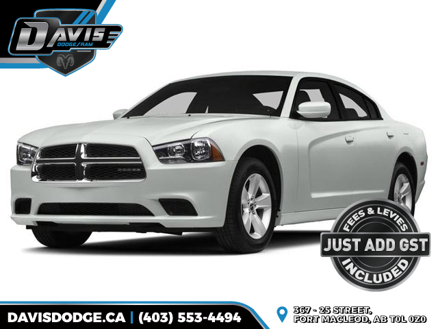 2014 Dodge Charger SXT (Stk: 2C3CDX) in Fort Macleod - Image 1 of 10