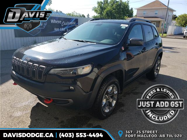 2019 Jeep Cherokee Trailhawk (Stk: 15542) in Fort Macleod - Image 1 of 21