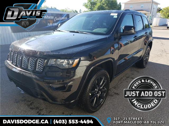 2019 Jeep Grand Cherokee Laredo (Stk: 15499) in Fort Macleod - Image 1 of 22