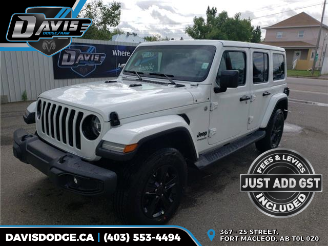 2019 Jeep Wrangler Unlimited Sahara (Stk: 15654) in Fort Macleod - Image 1 of 20