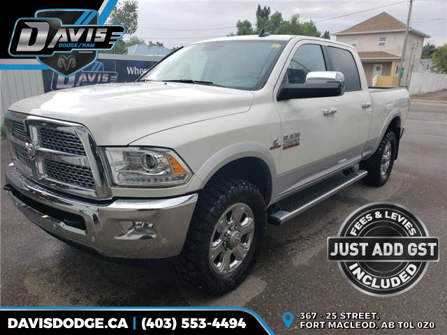2018 RAM 2500 Laramie 3C6UR5FLXJG189671 13152 in Fort Macleod