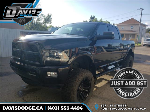 2017 RAM 2500 Laramie 3C6UR5FL3HG737777 12478 in Fort Macleod