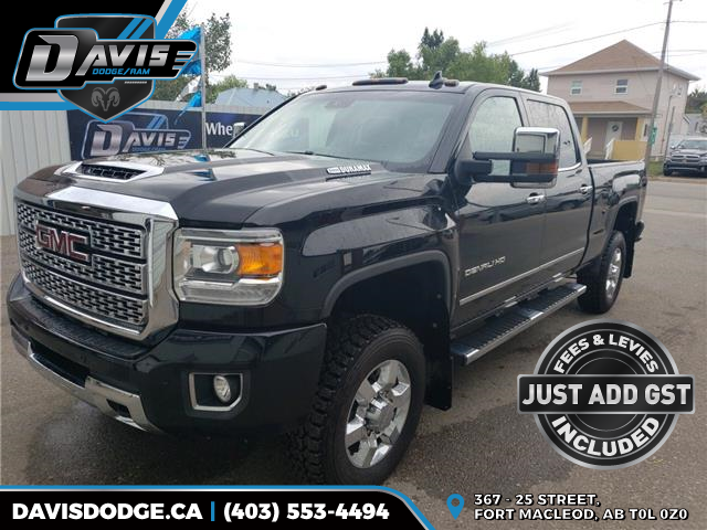 2018 GMC Sierra 2500HD Denali (Stk: 15809) in Fort Macleod - Image 1 of 20