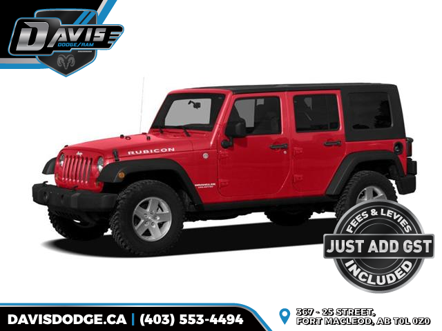 2010 Jeep Wrangler Unlimited Sport (Stk: 15671) in Fort Macleod - Image 1 of 1