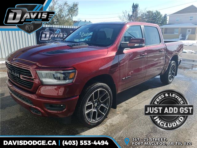 2020 RAM 1500 Sport (Stk: 16007) in Fort Macleod - Image 1 of 19