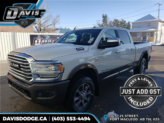 2019 RAM 3500 Laramie Longhorn (Stk: 16028) in Fort Macleod - Image 1 of 26