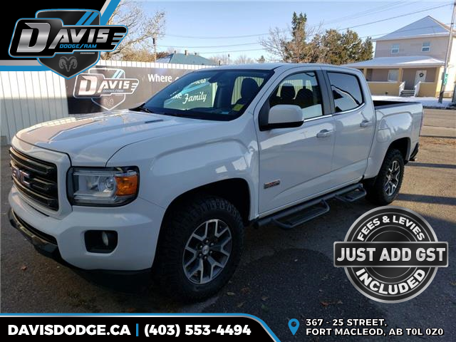2018 GMC Canyon All Terrain w/Leather (Stk: 16081) in Fort Macleod - Image 1 of 21