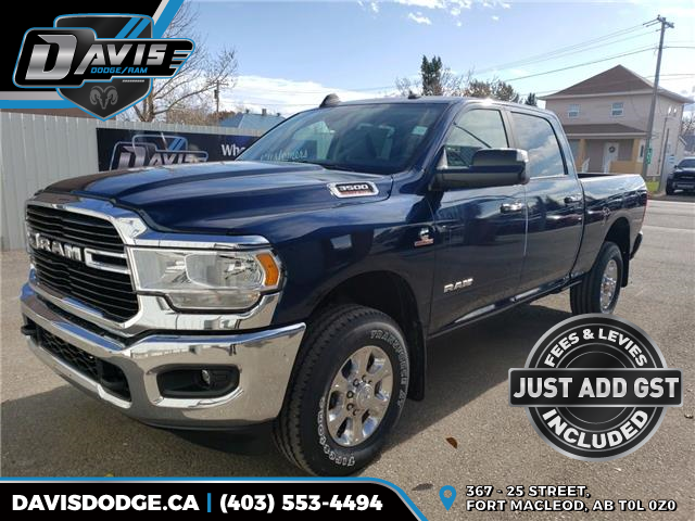 2019 RAM 3500 Big Horn (Stk: 15942) in Fort Macleod - Image 1 of 20