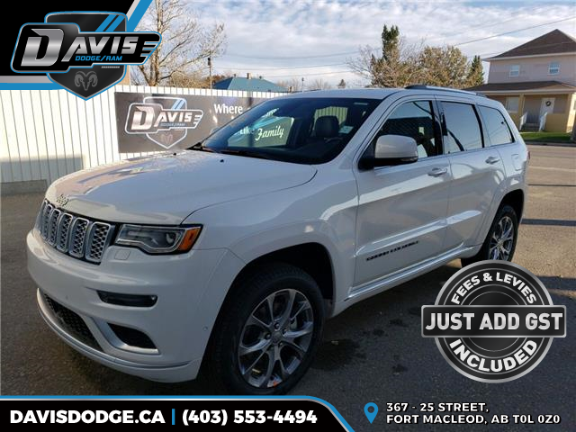 2020 Jeep Grand Cherokee Summit (Stk: 16090) in Fort Macleod - Image 1 of 24