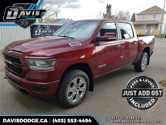 2020 RAM 1500 Big Horn (Stk: 16066) in Fort Macleod - Image 1 of 21