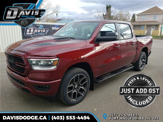 2020 RAM 1500 Sport (Stk: 16133) in Fort Macleod - Image 1 of 22