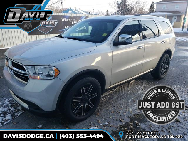 2012 Dodge Durango Crew Plus (Stk: 16037) in Fort Macleod - Image 1 of 21