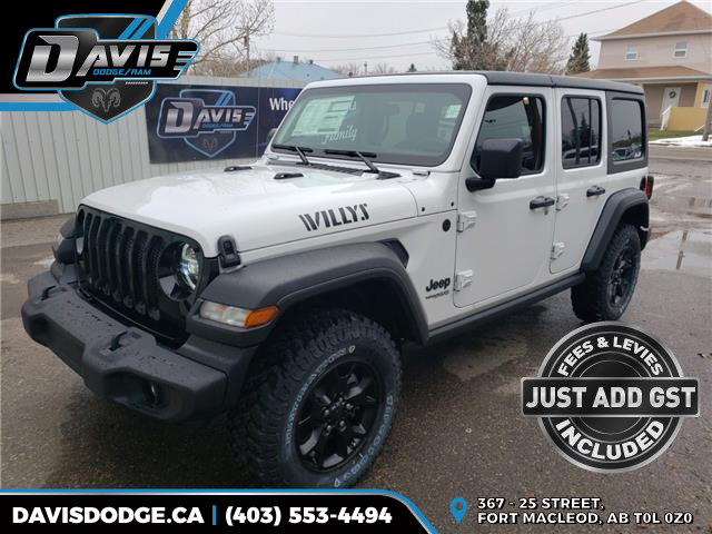 2020 Jeep Wrangler Unlimited Sport (Stk: 16262) in Fort Macleod - Image 1 of 19
