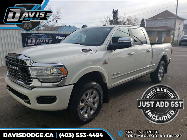 2019 RAM 3500 Limited (Stk: 16285) in Fort Macleod - Image 1 of 24