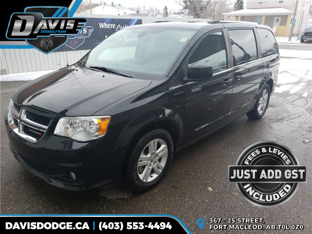 2018 Dodge Grand Caravan Crew (Stk: 16323) in Fort Macleod - Image 1 of 22