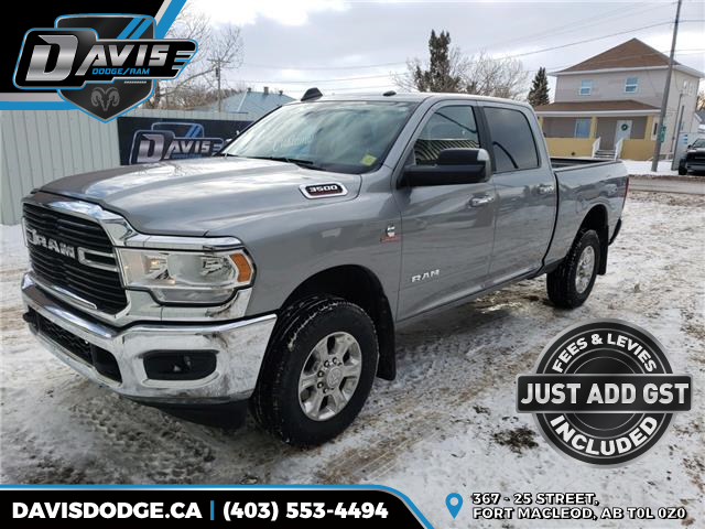 2019 RAM 3500 Big Horn (Stk: 14995) in Fort Macleod - Image 1 of 20