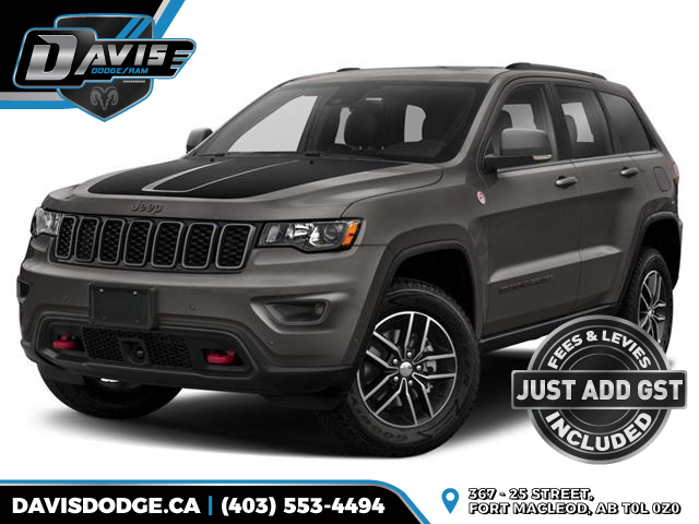 2020 Jeep Grand Cherokee Trailhawk (Stk: 16400) in Fort Macleod - Image 1 of 9