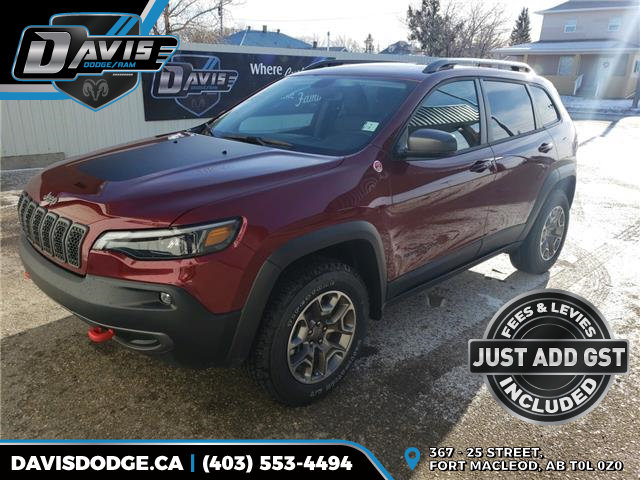 2020 Jeep Cherokee Trailhawk (Stk: 16475) in Fort Macleod - Image 1 of 22