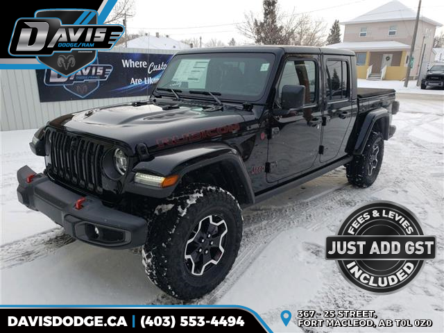 2020 Jeep Gladiator Rubicon (Stk: 16539) in Fort Macleod - Image 1 of 23
