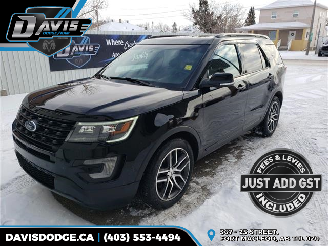 2017 Ford Explorer Sport (Stk: 16434) in Fort Macleod - Image 1 of 24