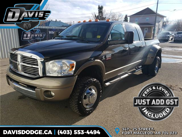 2008 Dodge Ram 3500 Laramie (Stk: 10801) in Fort Macleod - Image 1 of 24