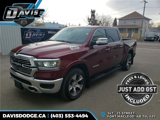 2019 RAM 1500 Laramie (Stk: 16600) in Fort Macleod - Image 1 of 25