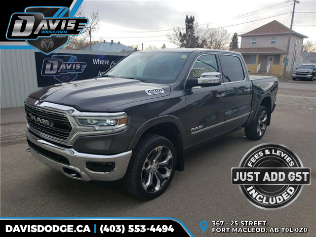 2019 RAM 1500 Limited (Stk: 16610) in Fort Macleod - Image 1 of 26