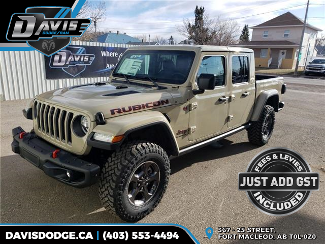 2020 Jeep Gladiator Rubicon (Stk: 16627) in Fort Macleod - Image 1 of 23