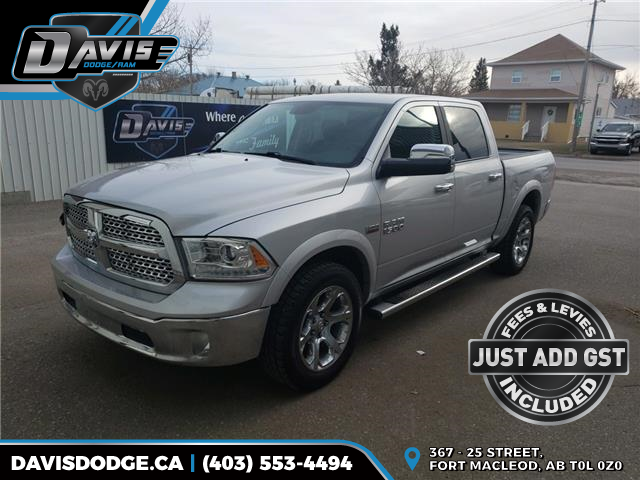 2017 RAM 1500 Laramie (Stk: 10539) in Fort Macleod - Image 1 of 19