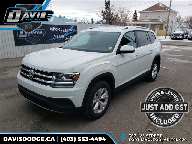 2019 Volkswagen Atlas 3.6 FSI Trendline (Stk: 16640) in Fort Macleod - Image 1 of 20