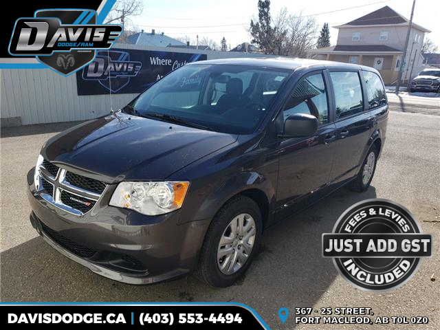 2020 Dodge Grand Caravan SE (Stk: 16722) in Fort Macleod - Image 1 of 16