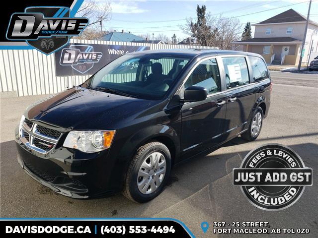 2020 Dodge Grand Caravan SE 2C4RDGBGXLR167541 16729 in Fort Macleod