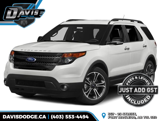 2015 Ford Explorer Sport (Stk: 12012) in Fort Macleod - Image 1 of 10