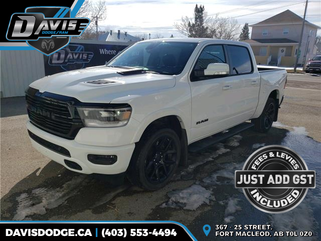 2020 RAM 1500 Laramie 1C6SRFJTXLN170634 16135 in Fort Macleod