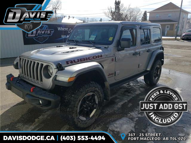 2019 Jeep Wrangler Unlimited Rubicon (Stk: 14289) in Fort Macleod - Image 1 of 22